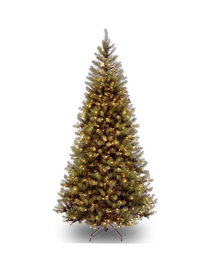 Holiday Lane - National Tree 6.5' Spruce Tree with 350 Clear Lights
