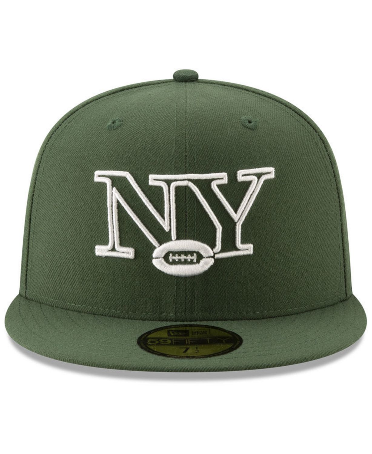 New Era New York Jets Logo Elements Collection 59FIFTY FITTED Cap & Reviews - Sports Fan Shop By Lids - Men - Macy's