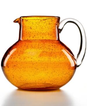 Artland Glassware, Iris Amber Pitcher