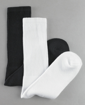 Club Room Socks, Athletic Crew, 6 Pack