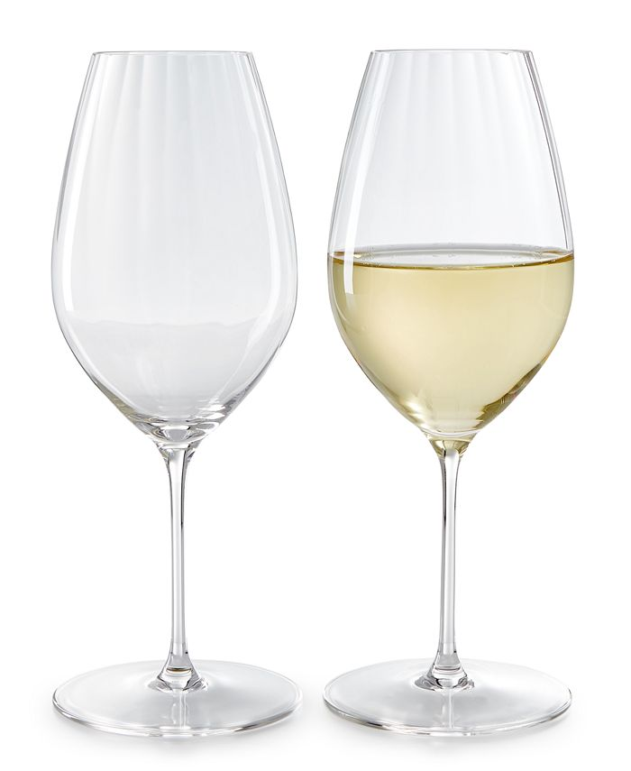Riedel Performance Riesling Glasses Set Of 2 Reviews Glassware Drinkware Dining Macy S