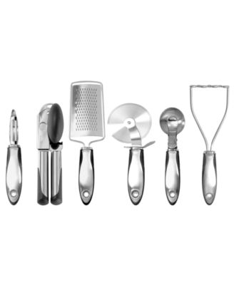 OXO Steel 6-Piece Kitchen Essentials Set
