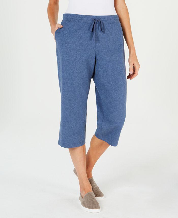 Karen Scott - Knit Capri Pants, Created For Macy's