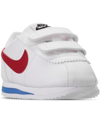 white nike youth shoes