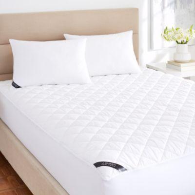 Regal 233 Thread Count Cotton Top Allergen Barrier Waterproof Mattress Pad - Queen