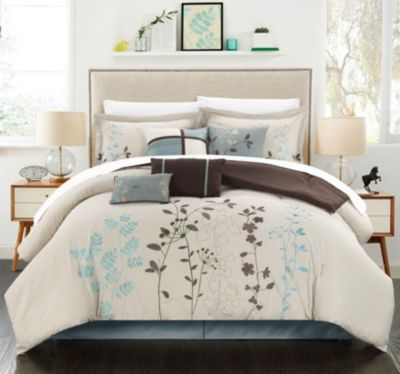 Bliss Garden 12-Pc Queen Comforter Set