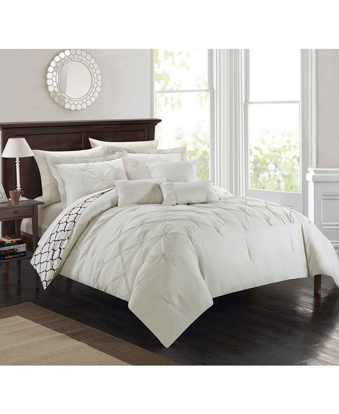 Chic Home - Dorothy 10-Pc. Queen Comforter Set