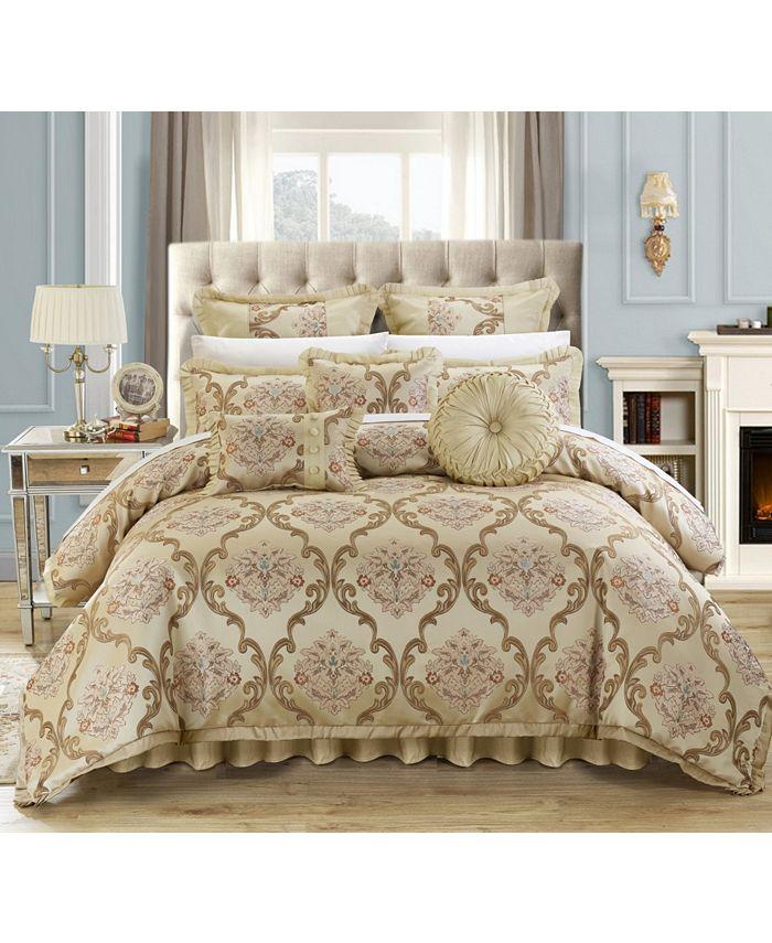 Chic Home - Aubrey 9-Pc. Queen Comforter Set
