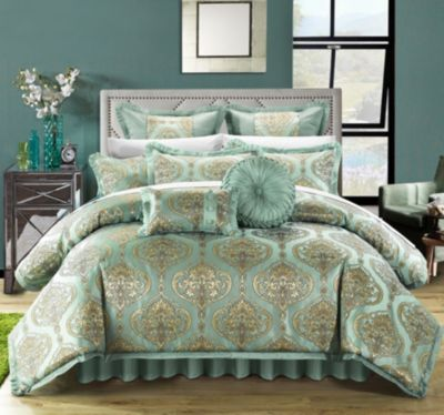 Como 9-Pc Queen Comforter Set