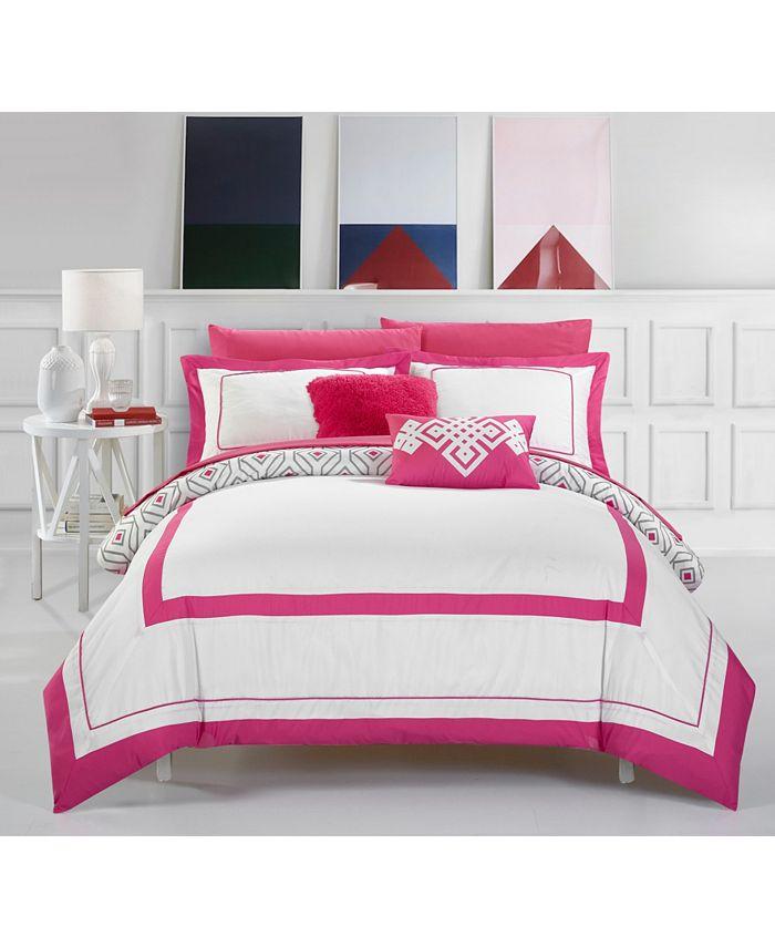 Chic Home - Beckham 9-Pc. Full Comforter Set