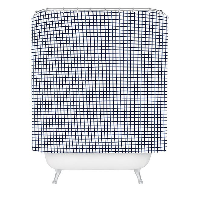 Deny Designs Holli Zollinger Cross Lines Shower Curtain
