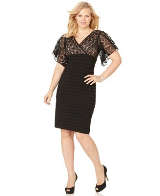 HD wallpapers plus size cocktail dress with short sleeves Page 3
