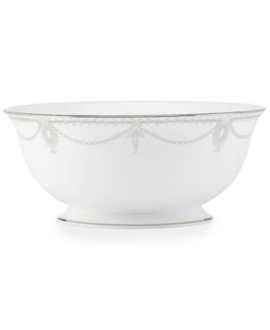 Marchesa by Lenox Dinnerware, Empire Pearl Serving Bowl