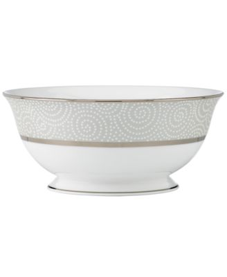 Lenox Pearl Beads Serving Bowl