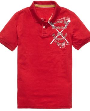 American Rag Shirt, Luck Varsity Polo Shirt