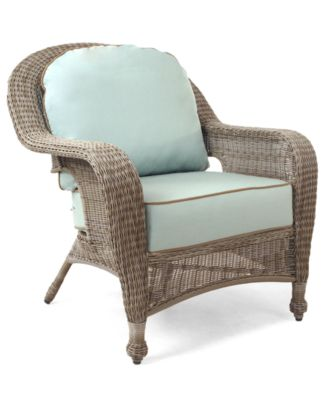 Monterey Wicker Patio Furniture, Outdoor Lounge Chair - furniture ...