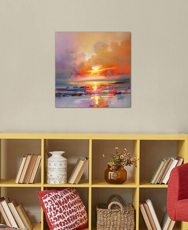 """iCanvas """"Diminuendo Sky Study III"""" by Scott Naismith Gallery-Wrapped Canvas Print (26 x 26 x 0.75)"""