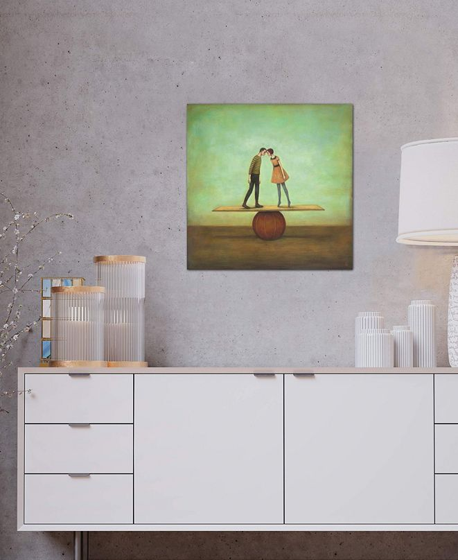 """iCanvas """"Finding Equilibrium"""" by Duy Huynh Gallery-Wrapped Canvas Print (26 x 26 x 0.75)"""