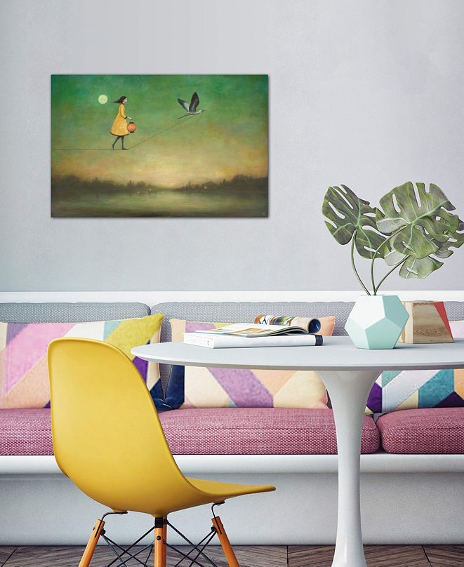 """iCanvas """"Blue Moon Expedition"""" by Duy Huynh Gallery-Wrapped Canvas Print (26 x 40 x 0.75)"""