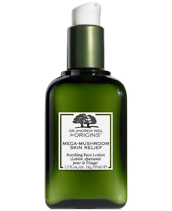 Origins Dr. Andrew Weil for Origins Mega Mushroom Skin Relief Soothing Face Lotion, 1.7 oz
