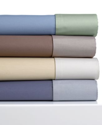 CLOSEOUT! Charter Club 600 Thread Count Reversible Queen Sheet Set