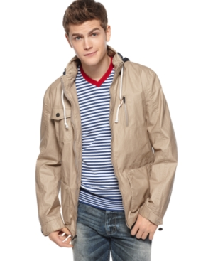American Rag Jacket, Hooded Five Pocket