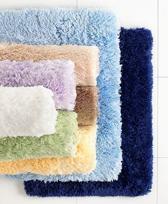 Closeout Martha Stewart Collection Bedford Memory Foam Bath Rug Collection Bath Rugs Bath