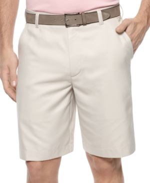 Izod Shorts, Solid Lightweight Flat Front Shorts