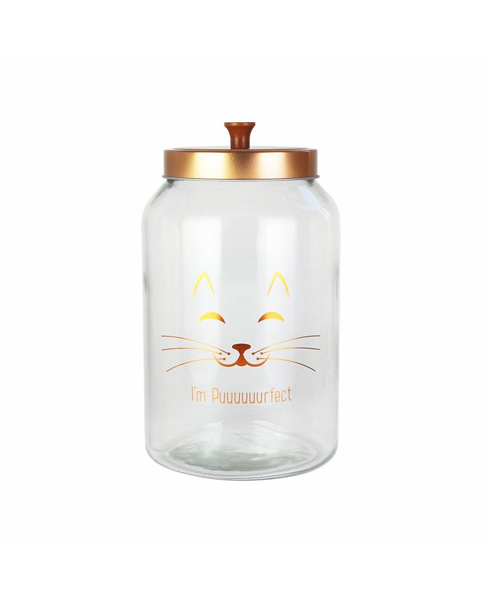 Jay Imports - Purrfect Glass Jar