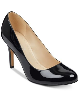 Marc Fisher Chris Round-Toe Pumps