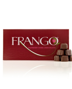 Frango Chocolate, 1 lb. Dark Raspberry Box of Chocolates