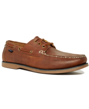 Polo Ralph Lauren Bienne Tumbled Leather Boat Shoes Men's Shoes