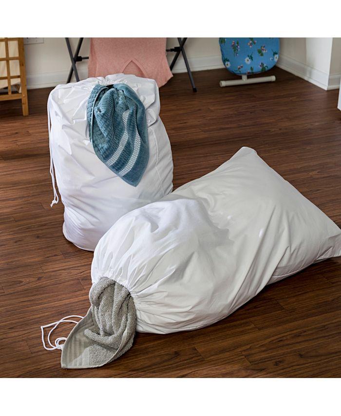 Honey Can Do - Cotton Laundry Bag, Set of 2