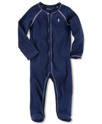 Ralph Lauren Baby Coverall Baby Boys Solid Coverall
