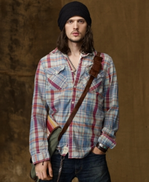 Denim & Supply Ralph Lauren Shirt, Madras Shirt