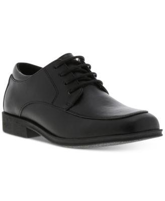 big boys black dress shoes