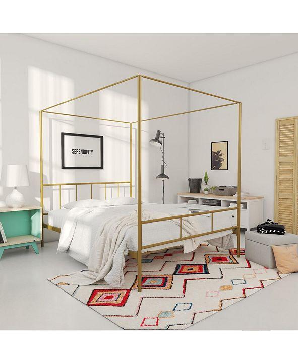 Novogratz Marion Canopy Queen Bed