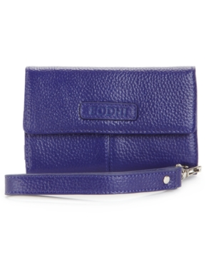 Bodhi Wallet, Tech iPhone Leather Wristlet