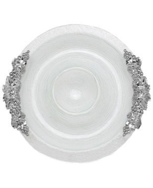 Arthur Court Grape Glass Chip and Dip, 17""