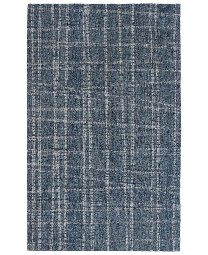 """Liora Manne' - Savannah 9506 Mad Plaid 7'6"""" x 9'6"""" Area Rug"""