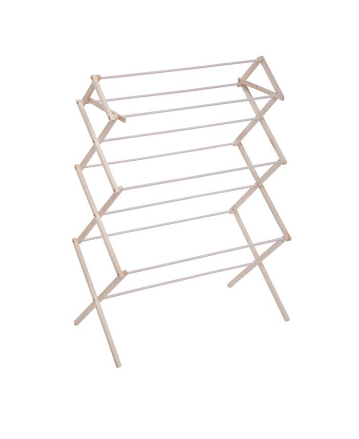 Honey Can Do - Heavy-Duty Collapsible Wood Drying Rack