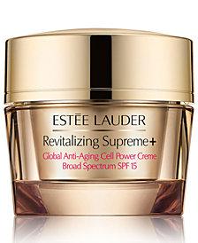 Estee Lauder Revitalizing Supreme+ Global Anti-Aging Cell Power Creme SPF 15, 2.5-oz.