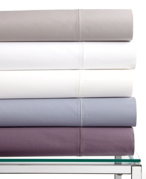 Hotel Collection Bedding, Pair of 400 Thread Count Solid King Pillowcases Bedding