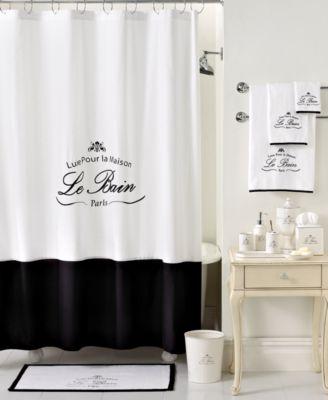 Kassatex Bath Accessories, Le Bain Shower Curtain