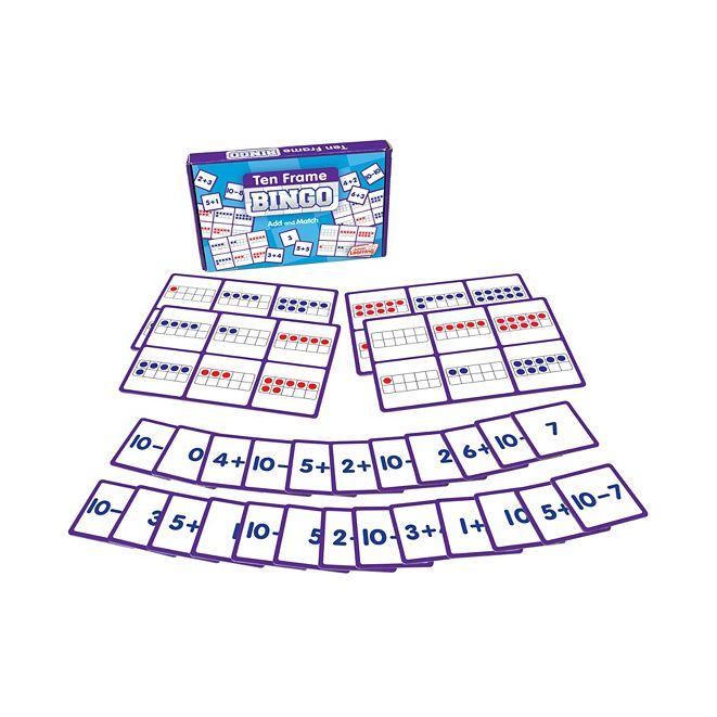 Junior Learning Ten Frame Bingo Learning Educational Game