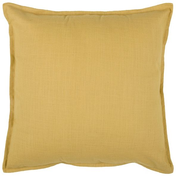 "Rizzy Home Solid 20"" x 20"" Down Filled Pillow"