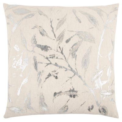 """20"""" x 20"""" Floral Down Filled Pillow"""