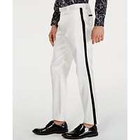 INC Mens Slim-Fit Tuxedo Pants