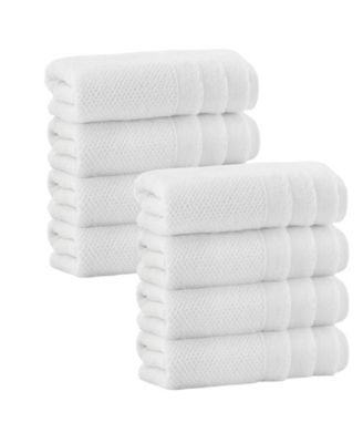 Veta 8-Pc. Hand Towels Turkish Cotton Towel Set