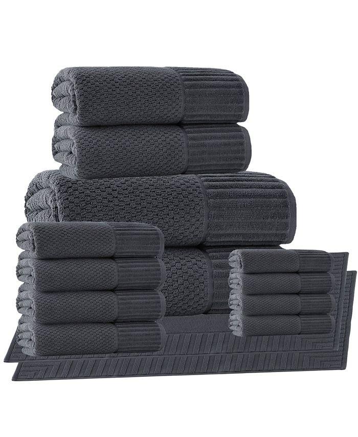 Enchante Home - Timaru 2-Pc. Bath Sheets Turkish Cotton Towel Set